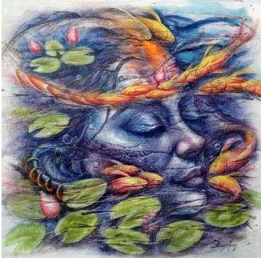 Eternal Beauty 3 | Painting by artist Darshan Sharma | oil | Canvas