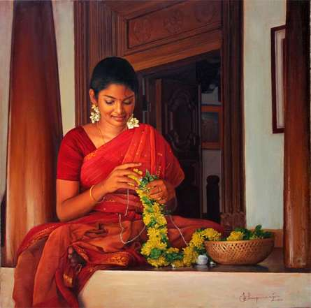 Various Thoughts | Painting by artist S  Elayaraja | oil | Canvas