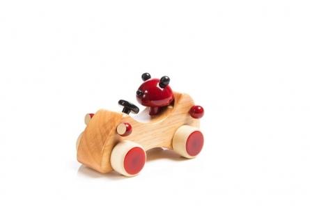 Baloo Wooden Toy Car | Craft by artist Vijay Pathi | wood