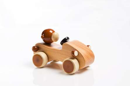 Cheeko Wooden Toy Car | Craft by artist Vijay Pathi | wood