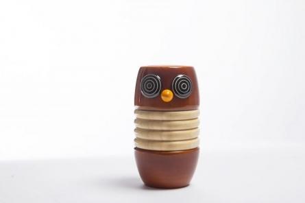Goobe Wooden Rattle | Craft by artist Vijay Pathi | wood