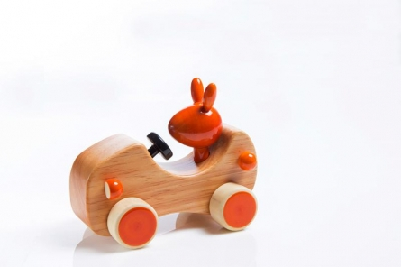 Goofy Wooden Toy Car | Craft by artist Vijay Pathi | wood