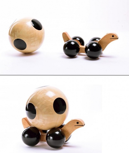Oodees Toys | Jombo Soccer Wooden Toy Craft Craft by artist Oodees Toys | Indian Handicraft | ArtZolo.com