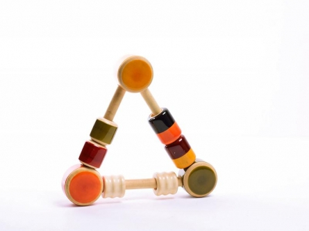 Vijay Pathi | Riff Raff Wooden Rattle Craft Craft by artist Vijay Pathi | Indian Handicraft | ArtZolo.com