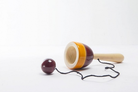 Tikayo Purple Wooden Toy | Craft by artist Vijay Pathi | wood