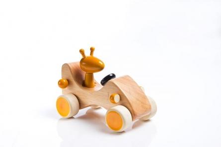 Zeppo Wooden Toy Car | Craft by artist Vijay Pathi | wood