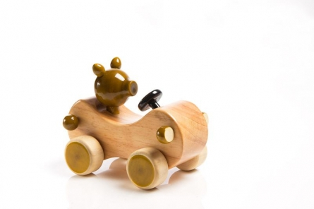 Zippy Wooden Toy Car | Craft by artist Vijay Pathi | wood