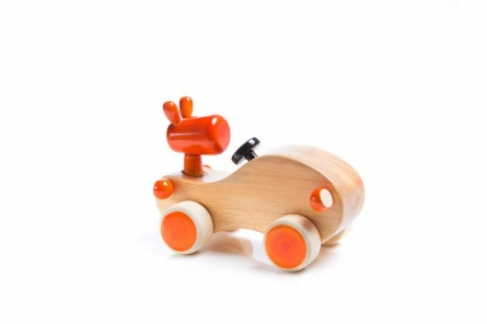 Vijay Pathi | Zooter Wooden Toy Car Craft Craft by artist Vijay Pathi | Indian Handicraft | ArtZolo.com