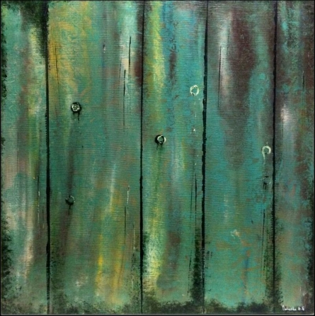 "Abstract ""The Secret Door""   Painting by artist Parineeta Goenka   acrylic   Canvas Board"