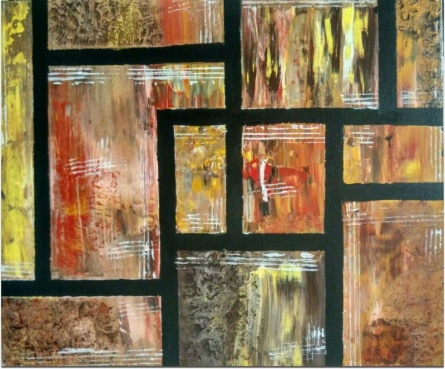 "Abstract ""Rustic Roughness"" 