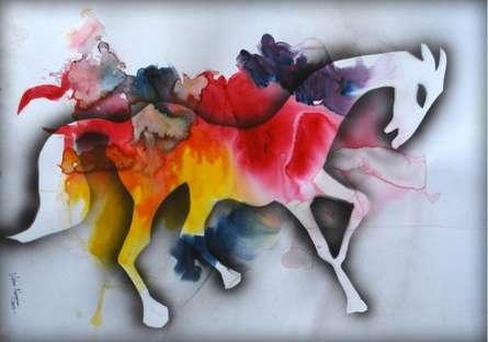 Amba Ghat   Mixed_media by artist Sripad Kulkarni   Paper