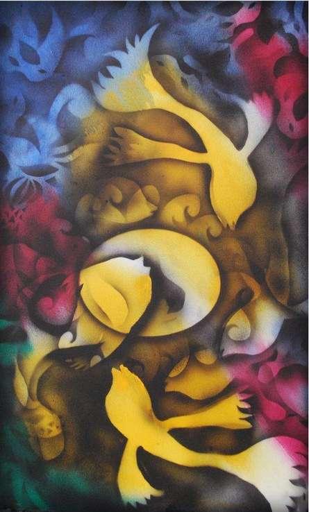 Jaggery Factory | Mixed_media by artist Sripad Kulkarni | Canvas