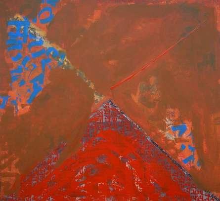 Spiritualism II | Painting by artist Ashutosh Apte | acrylic | Canvas