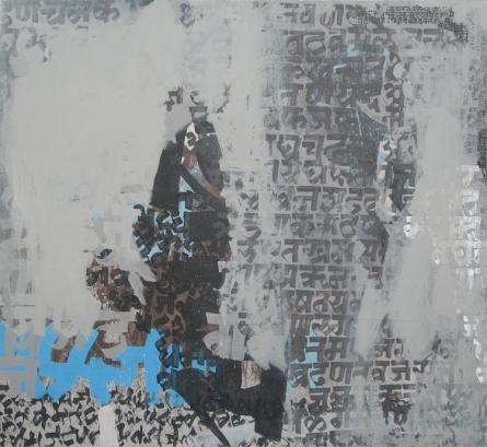 Spiritualism I | Painting by artist Ashutosh Apte | acrylic | Canvas