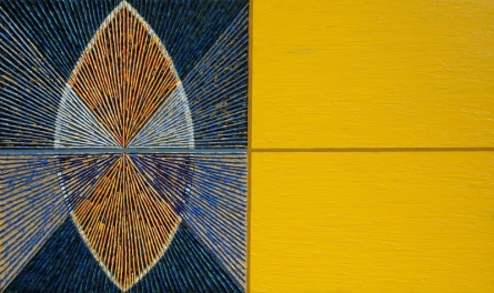 Geometrical Abstraction 2   Painting by artist Sandesh Khule   acrylic   Canvas