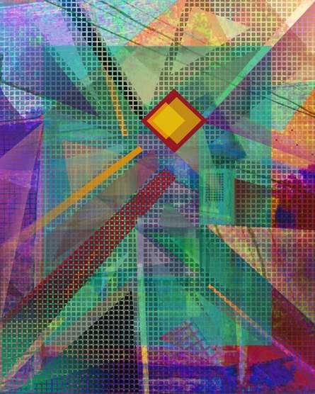 Homage To The Pixel - 30x24   Mixed_media by artist Mario Castillo   digital art