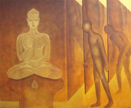 TRANSFORMATION | Painting by artist Satish Kale | acrylic | Canvas