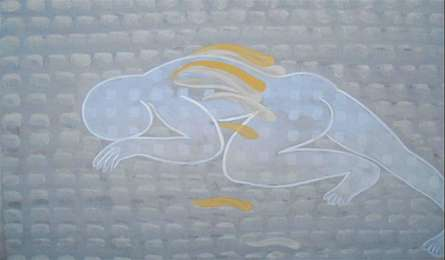 5 rest | Painting by artist Satish Kale | acrylic | Canvas