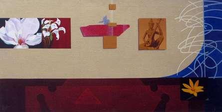 Decorative Wall | Painting by artist Sanjay | acrylic | Canvas