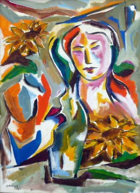Homemaker   Painting by artist Swami   acrylic   Canvas