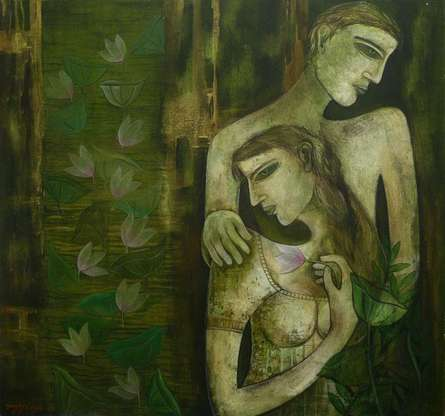 Love   Painting by artist Sanjay Sinha   acrylic   Canvas