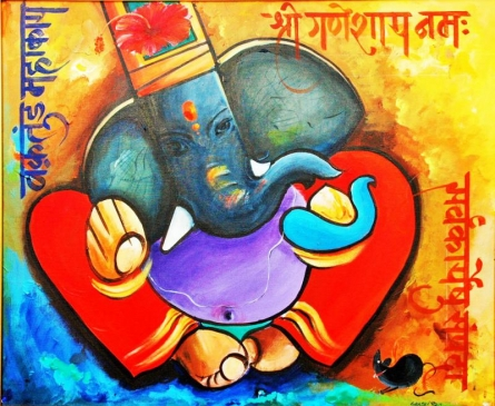 New2 2 | Painting by artist Sanjay Damodar Raut | acrylic | Canvas