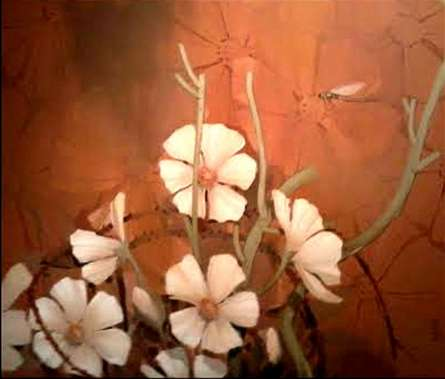 Nature II | Painting by artist Indrani Acharya | acrylic | Canvas