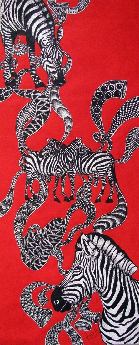 Animals Acrylic Art Painting title 'Untitled 6' by artist Umed Rawat