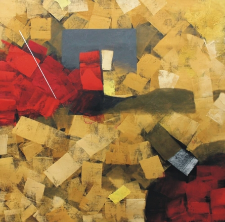 Untitled 42 | Painting by artist Sudhir Talmale | oil | Canvas