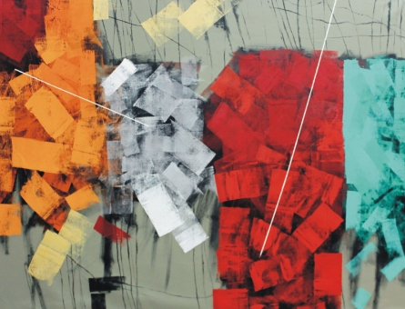 Sudhir Talmale | Oil Painting title Untitled 60 on Canvas | Artist Sudhir Talmale Gallery | ArtZolo.com