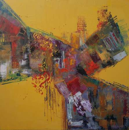Autumn | Painting by artist Sheetal Singh | acrylic | Canvas