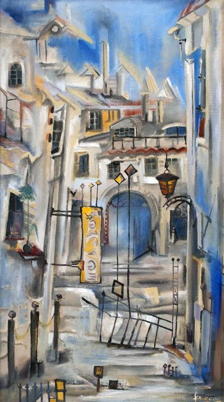 00k9050i3   Painting by artist Boris Kasyanov   oil   Canvas