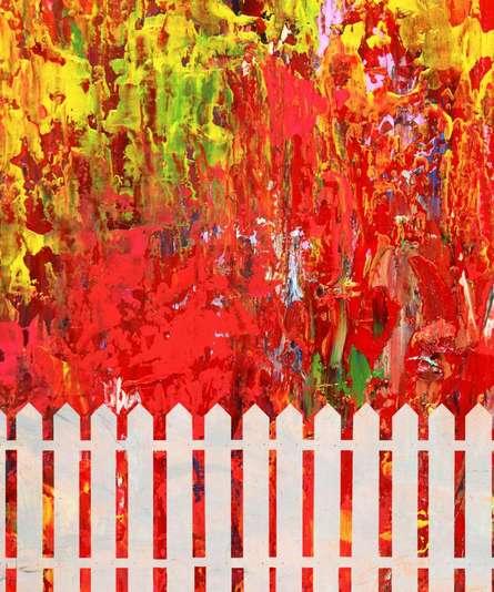 Colorful Chaos | Digital_art by artist Suraj Lazar | Art print on Canvas