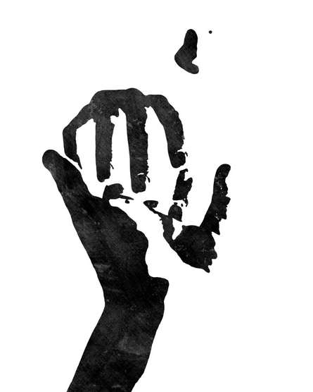 Extending Hand | Digital_art by artist Suraj Lazar | Art print on Canvas