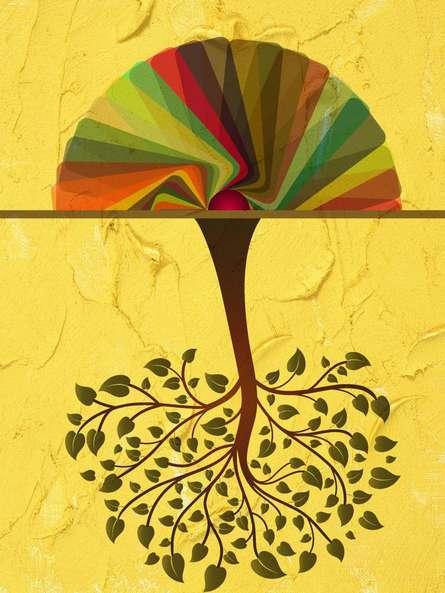 Tree | Digital_art by artist Suraj Lazar | Art print on Canvas