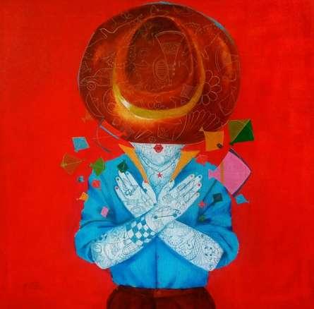 The childhood v | Painting by artist Shiv Kumar Soni | acrylic | Canvas