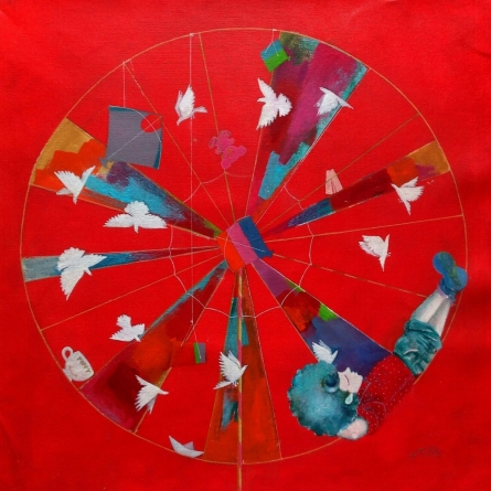 Memories Of The Childhood Vii | Painting by artist Shiv Soni | acrylic | Canvas