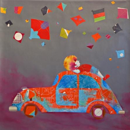 Shiv Kumar Soni | Acrylic Painting title Treasure Of The Childhood Xx on Canvas