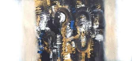 The Abstract Nature | Painting by artist Deepak Guddadakeri | acrylic | Canvas
