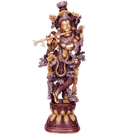 Brass Ganesha Statue | Craft by artist Brass Art | Brass