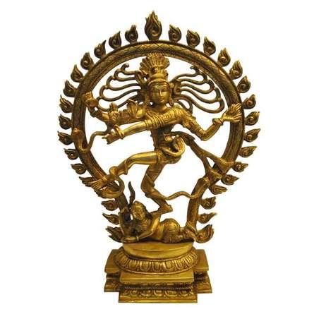 Brass Natraja | Craft by artist Brass Art | Brass