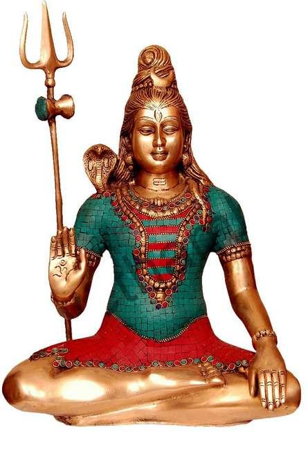 Shiva | Craft by artist Brass Art | Brass