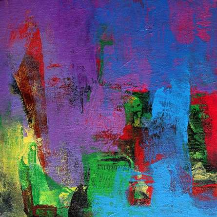 The Purple Touch   Painting by artist Siddhesh Rane   acrylic   Canvas