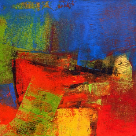 Abstract Acrylic Art Painting title Untitled 106 by artist Siddhesh Rane