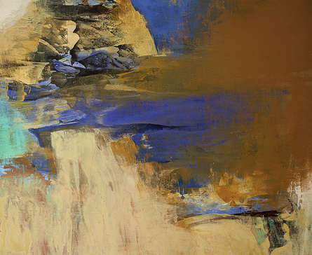 Abstract Acrylic Art Painting title Untitled 113 by artist Siddhesh Rane