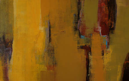 Abstract Acrylic Art Painting title Untitled 114 by artist Siddhesh Rane