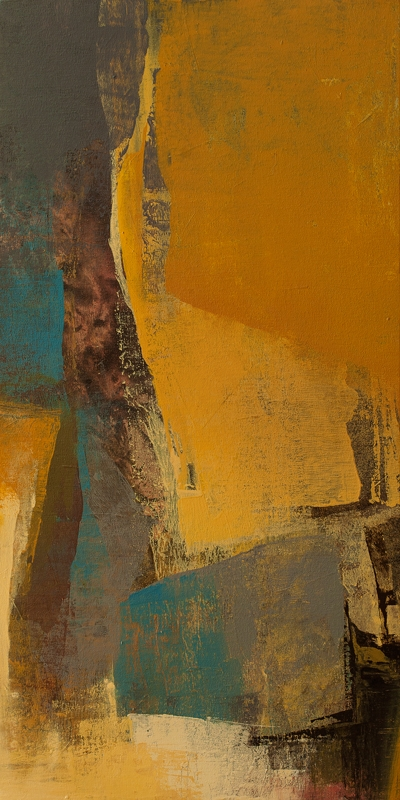 Abstract Acrylic Art Painting title Untitled 119 by artist Siddhesh Rane
