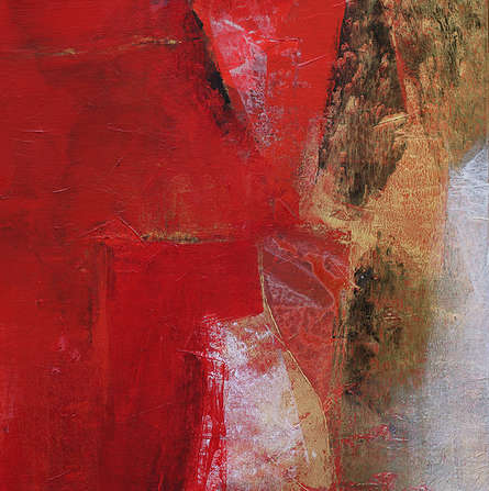 Abstract Acrylic Art Painting title 'Untitled 125' by artist Siddhesh Rane