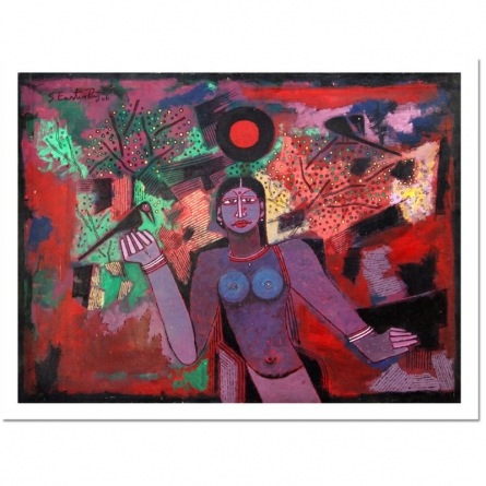 UNTITLED | Painting by artist A.P.S. EASTER RAJ | oil | Canvas