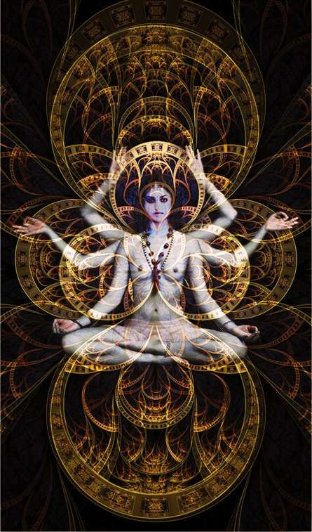 Meditation   Digital_art by artist CLAUDIO FIORI   Art print on Canvas